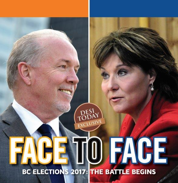FACE TO FACE: Christy Clark v/s John Horgan