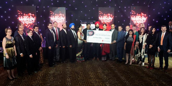 South Asian group in Brampton completes its pledge to Osler, raising $1,000,000