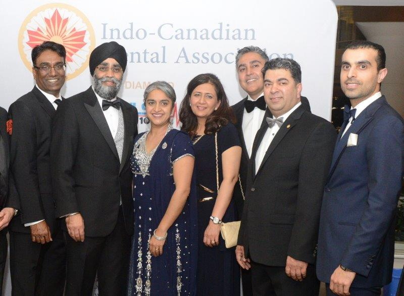 Indo-Canadian Dental Association's inaugural gala