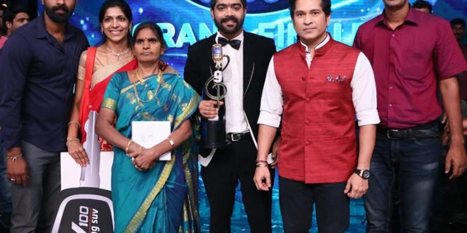 LV Revanth is the winner of Indian Idol 9