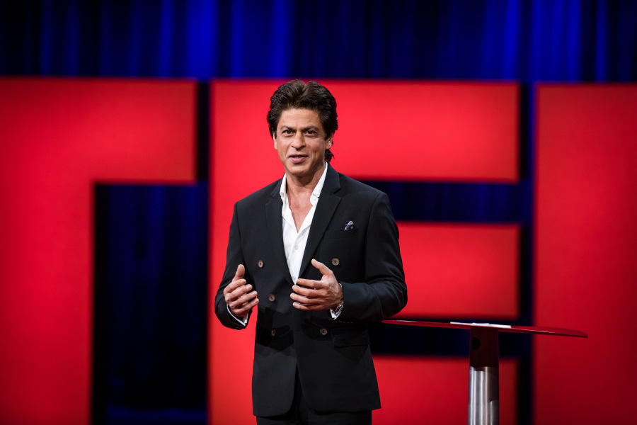I sell dreams, peddle love to millions: Shah Rukh at TED Talks