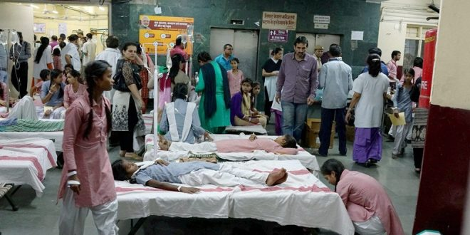 300 girl students taken ill due to chemical leakage in India's Capital