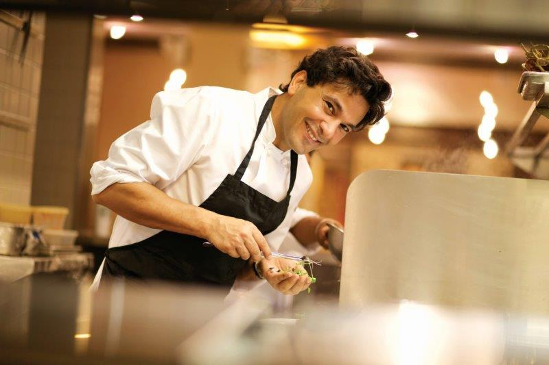 Chef Vikas Khanna — Creating food for thought