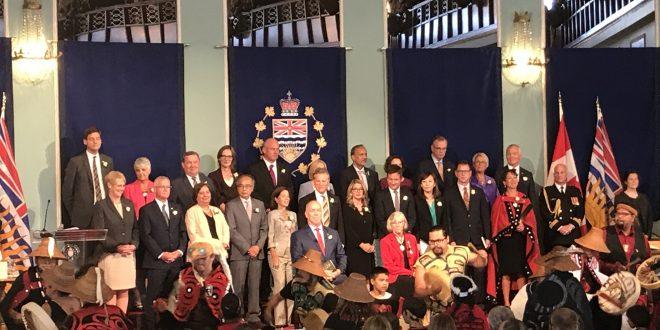 Premier John Horgan announces his Cabinet