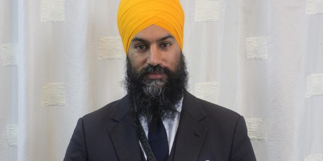 Jagmeet Singh makes history as he wins the federal NDP leadership