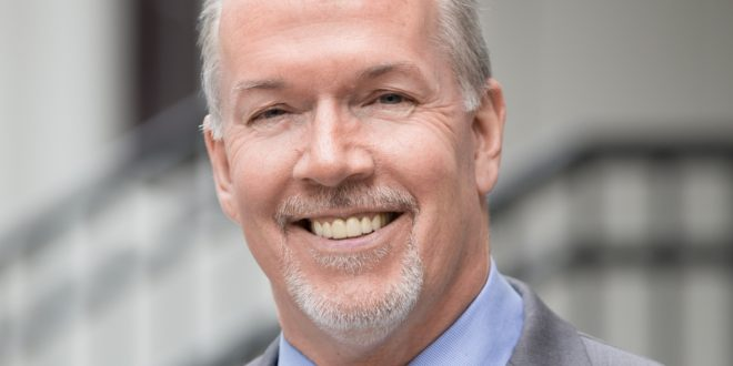 John Horgan: 'Can't wait to get started this new year'