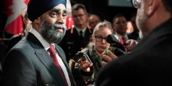 Q&A with Harjit Singh Sajjan Minister of National Defence