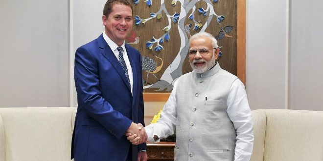 Scheer assures Modi of 'productive and positive relationship' if he becomes prime minister