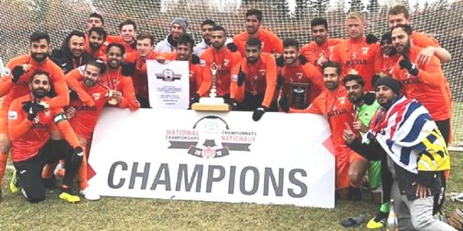 Surrey BC Tigers Hurricanes win 2018 Canada Soccer Toyota National Championships