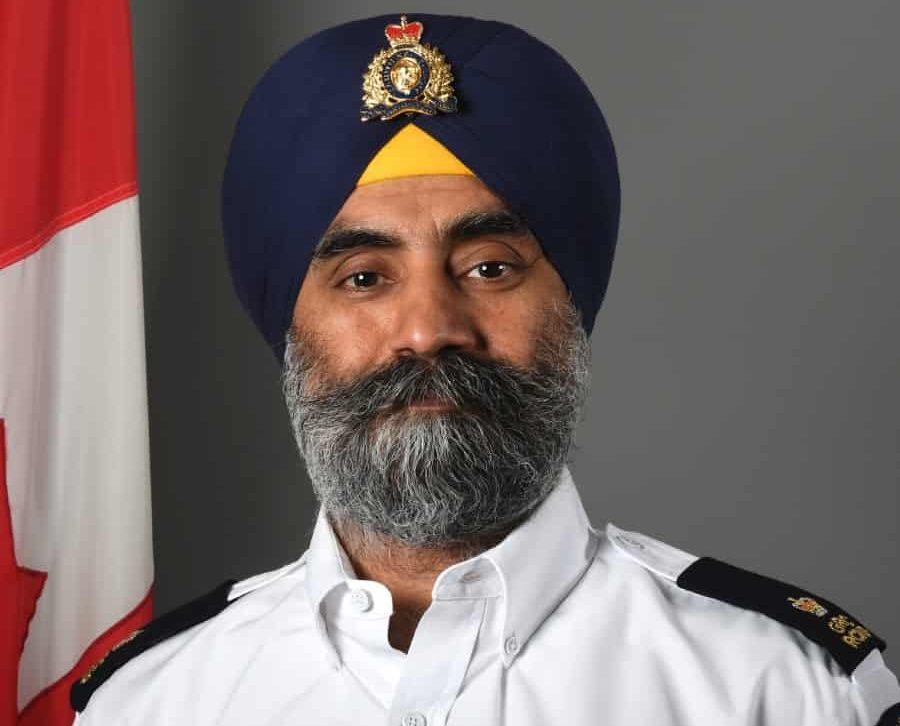 RCMP Inspector Baltej Singh Dhillon honored again