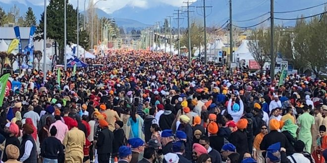 The annual Surrey Vaisakhi Parade returns April 20