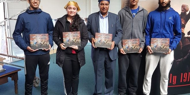 """Duty, Honour and Izzat"" released at Vancouver's Ross Street Gurdwara"