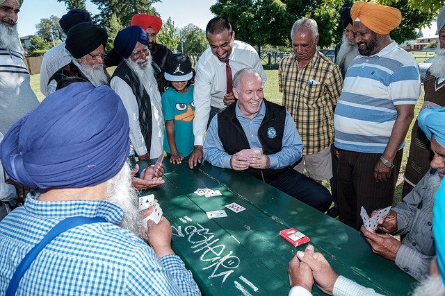 BC's Premier John Horgan's date with India's beloved sports