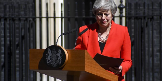 'I have not been able to deliver Brexit' British Prime Minister Theresa May quits