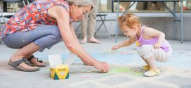 Bring the family to share stories through art
