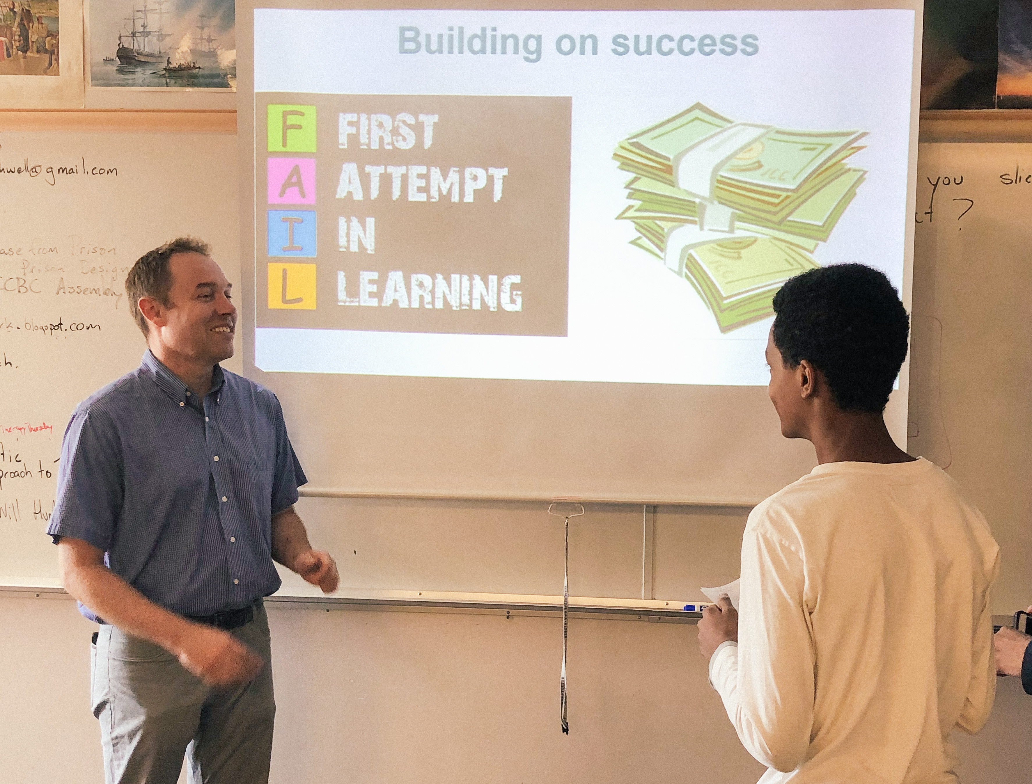 Surrey Students Learn How to Fail – Then How to Succeed
