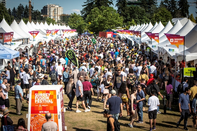 Surrey Fusion Festival Celebrates Multiculturalism at 12th Annual Event