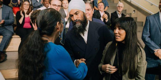NDP leader Jagmeet Singh pledges climate action, good jobs