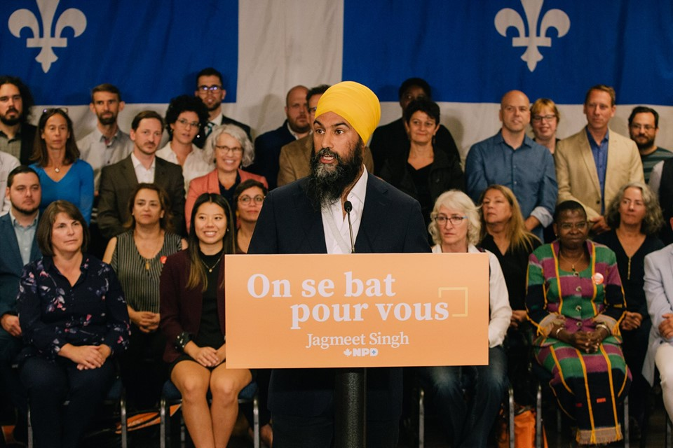 Jagmeet Singh says he wants to be a partner for a strong Quebec