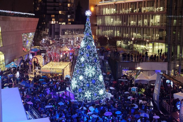 Surrey Tree Lighting Festival Celebrates the Holiday Season at 9th Annual Event