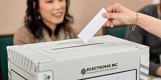 Changes to Election Act to modernize voting in B.C.