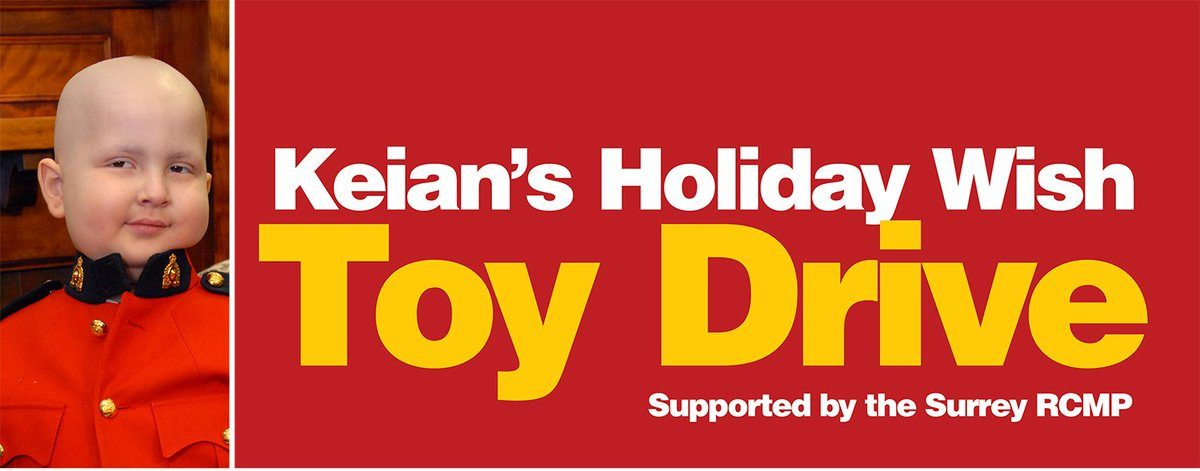 Help Keian's Holiday Wish Toy Drive bring cheer to sick kids and their families