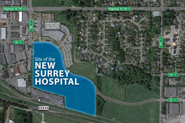 Cloverdale will be the second location of hospital for people in Surrey