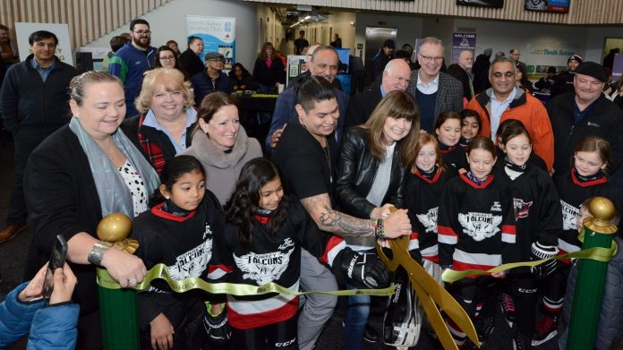 North Surrey Sport and Ice Complex hosts official grand opening