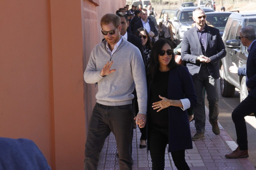 UK's Prince Harry, Meghan warn media over photos