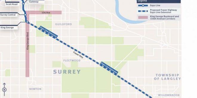 Major step forward for Surrey Langley SkyTrain