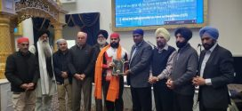 Star power-lifter Sumeet Sharma honoured by Vancouver's Ross Street Gurdwara for inspiring youth